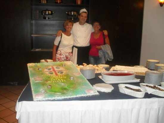 """Cala Rosa Club Hotel: MIMMO, """"Super PASTICCIERE"""""""