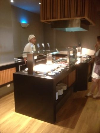 Barceló Montecastillo Golf: freshly cooked meat counter