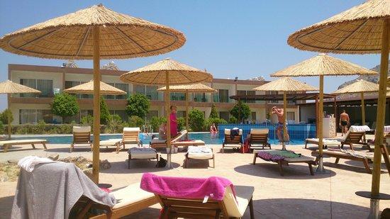 Hotel Anavadia: вид на второй бассейн