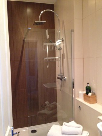 The Green House B & B: Room 2 shower room