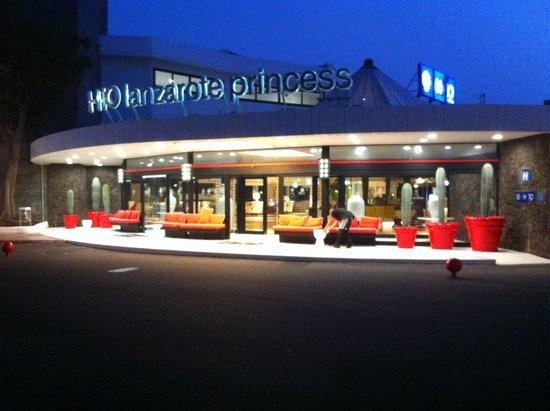 H10 Lanzarote Princess : hotel front