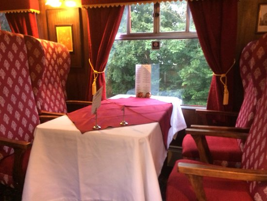 The Old Station Inn : Lovely old train carriage