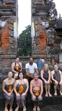 Kura Kura Yoga Retreat: after the waterceremonie