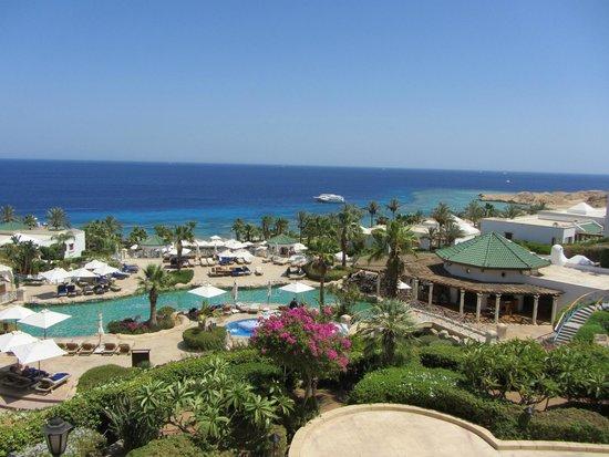 Hyatt Regency Sharm El Sheikh: Вид с рисепшен