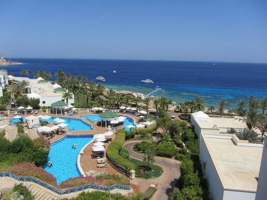 Hyatt Regency Sharm El Sheikh: Вид с балкона
