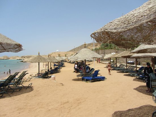 Hyatt Regency Sharm El Sheikh: Пляж