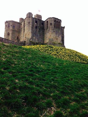 Warkworth Castle: In April