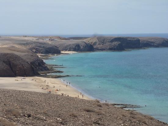 Playa de Papagayo: views from the hills