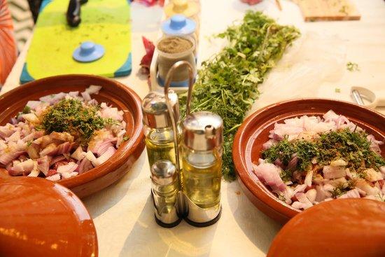 Riad Palau: Cooking course
