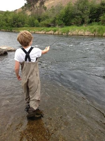 Utah Pro Fly Fishing Tours : son casting