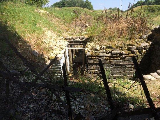 Vauquois, Francja: Une tranchée