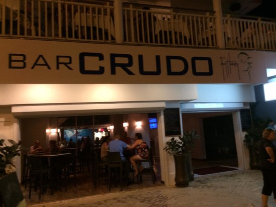 Guy Harvey's Island Grill : Bruno Birthed Crudo