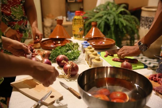 Riad Palau: Cooking course