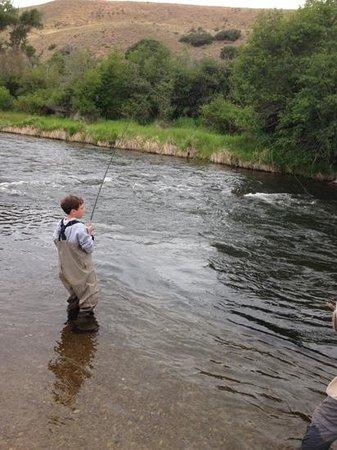 Utah Pro Fly Fishing Tours : Fish on!