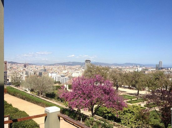 Hotel Miramar Barcelona: View from our balcony