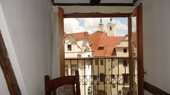 Cerny Slon: 3rd floor balcony