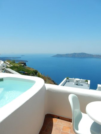 Dreaming View Suites: Vue du balcon