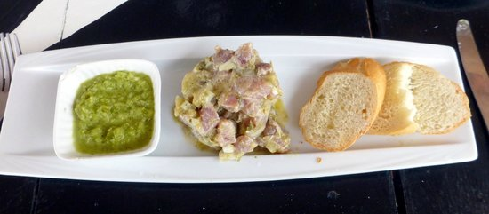 El Limbo on the Sea Hotel Restaurant: Tartar Tuna