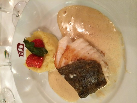 Brasserie Flo : Cod with Mash Potatoes
