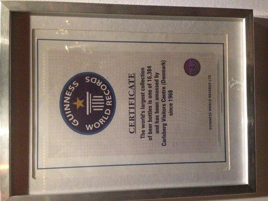 Visit Carlsberg: Guinness World Record