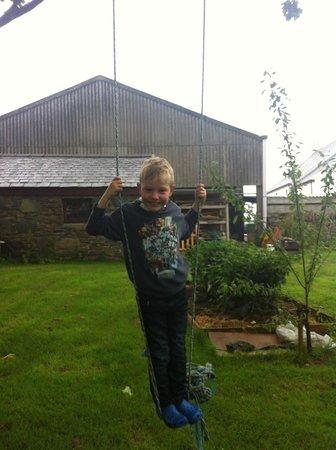 Knockaloe Beg Farm: Rope Swing