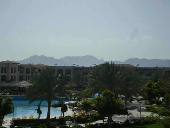 Jaz Mirabel Club : This is the view from the hotel reception