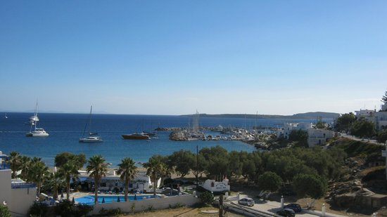 Alexandros Studio Apartments: View from the terrace