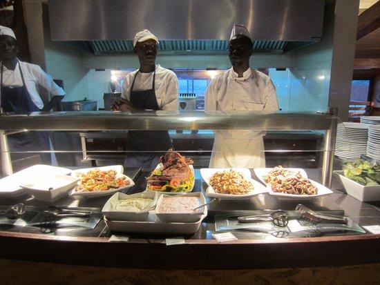 Royal Horizon Baobab: buffet restaurant