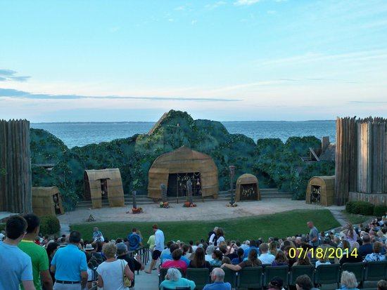 The Lost Colony: Beautiful Stage