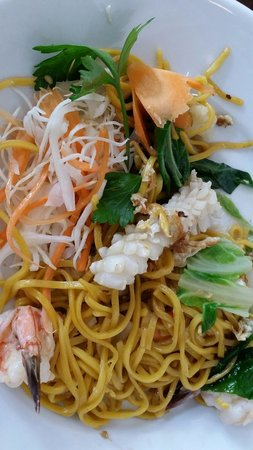 The Old Siam: Seafood noodle