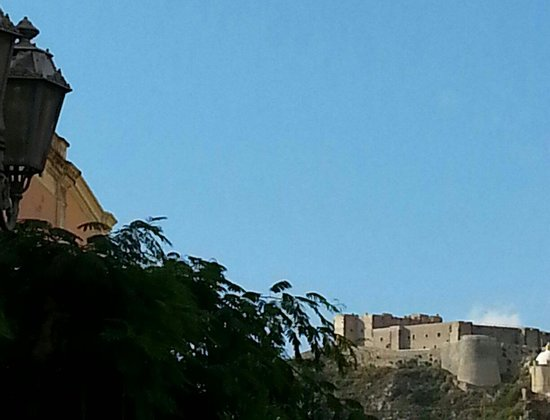 L'Alberghetto B&B: Il castello a Milazzo.