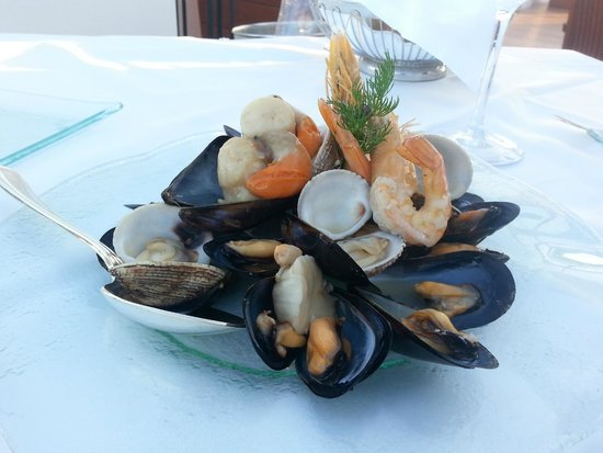 Lindian Village: Plateau de fruits de mer Restaurant Poissons