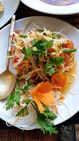 The Old Siam: Papaya salad