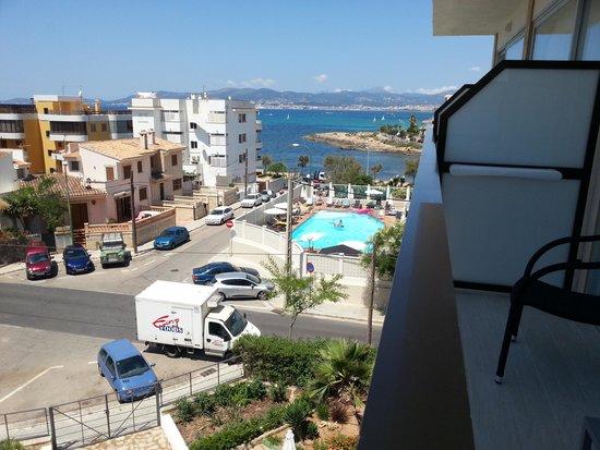 Hotel JS Palma Stay: Aussicht vom Balkon