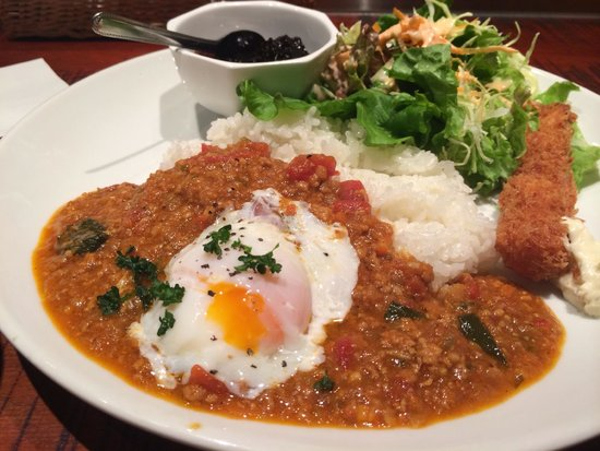 SATOMI fooding: トマトカレーランチ
