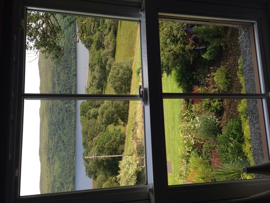 Collaig House Luxury B&B: Room with a view