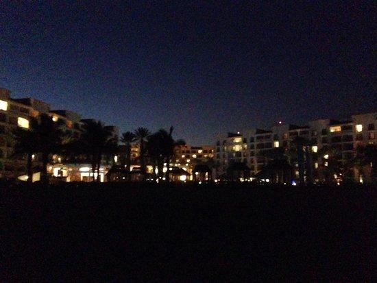 Hyatt Ziva Los Cabos : Night view.