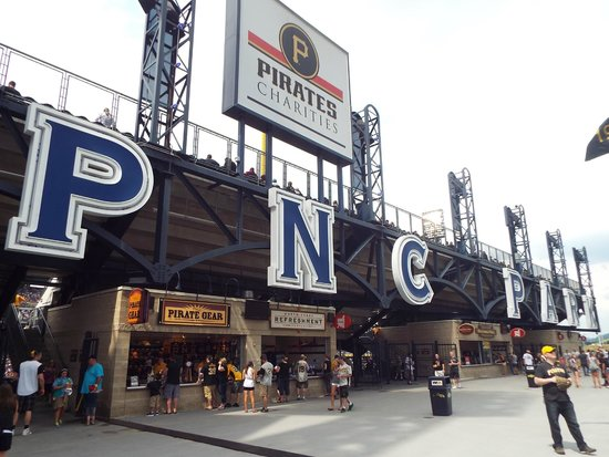 PNC Park : One of the ballpark entrances.