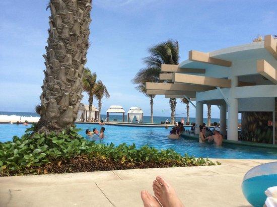 Hyatt Ziva Los Cabos: Pool chair view