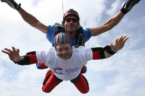 Skydive GB: Freefall at 130mph !