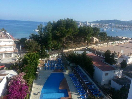 azuLine Hotel Bergantin: vistas desde la habitacion