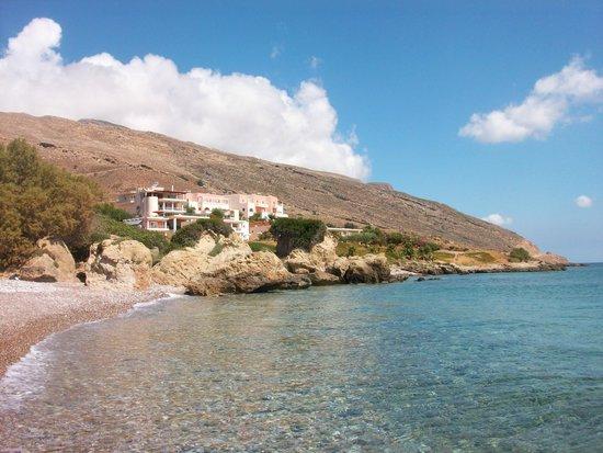 Balos Beach: The hotel