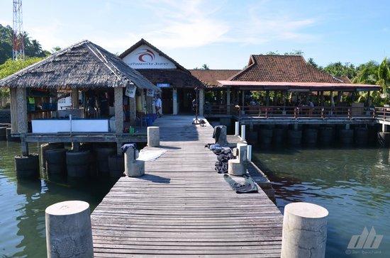 Cocotinos Manado : Dive center and restaurant