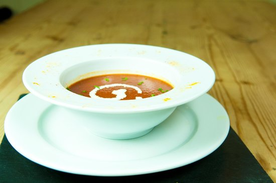 The Chetnole Inn: Lobster bisque