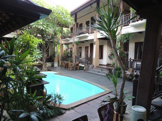 Amata Lanna: Rooms overlooking the pool