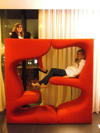 citizenM Glasgow: The cool seats