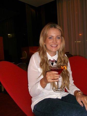 citizenM Glasgow: Free Cocktail