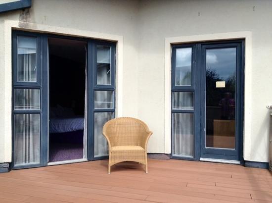 Osprey Hotel & Spa : large balcony room 116