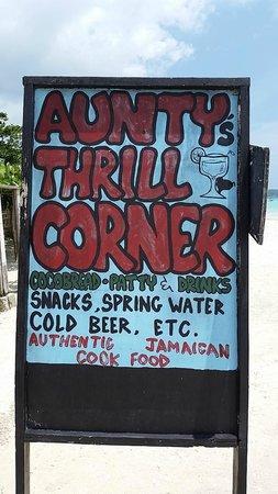 Cheap Thrill Corner : Sign