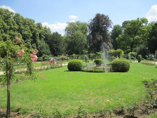 Parc de la Pépinière : le parc